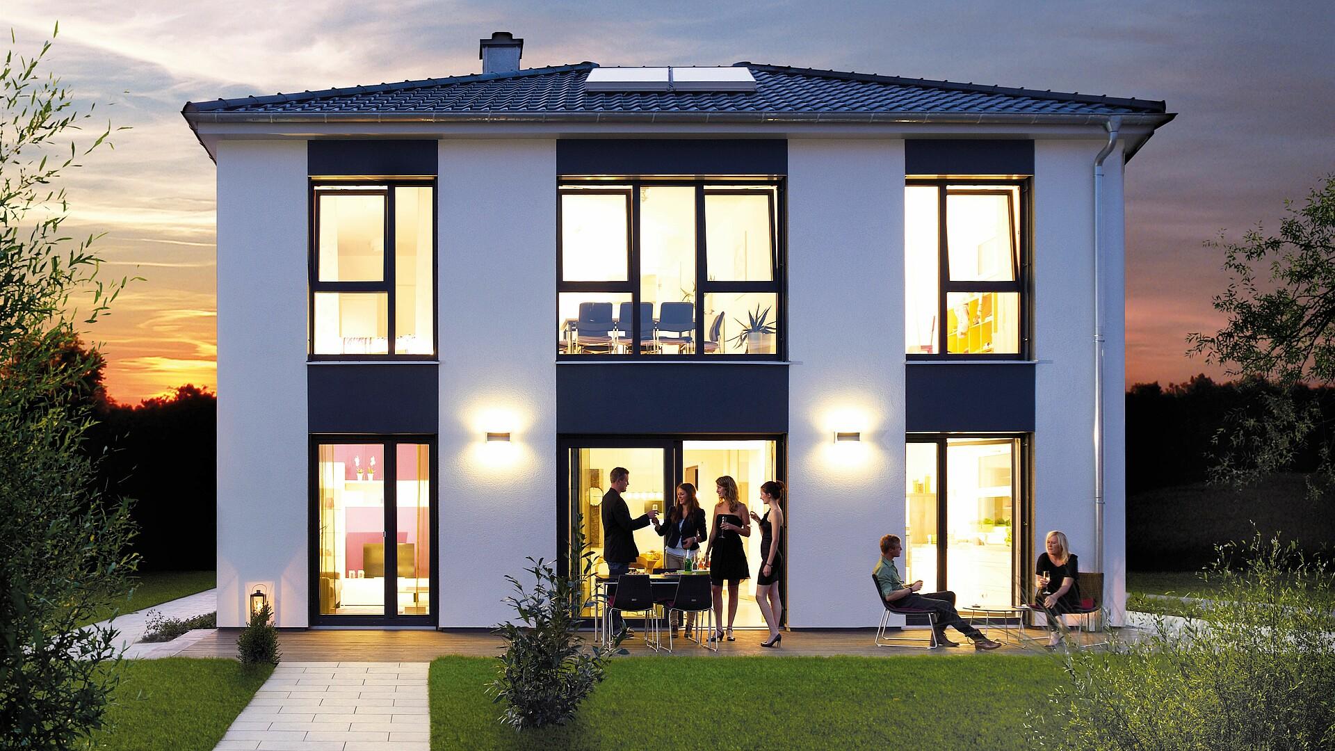 fertighaus villa toskana haus bis stadtvilla hanse haus. Black Bedroom Furniture Sets. Home Design Ideas