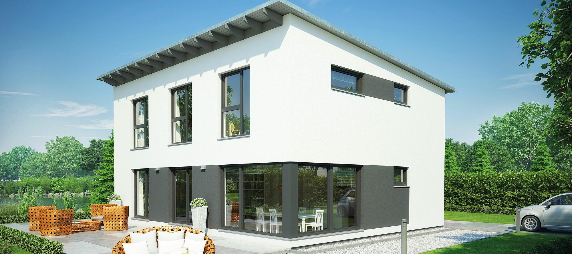 fertighaus vita 165 hanse haus. Black Bedroom Furniture Sets. Home Design Ideas